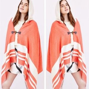 Urban Outfitters Ecote Blanket Hooded Poncho